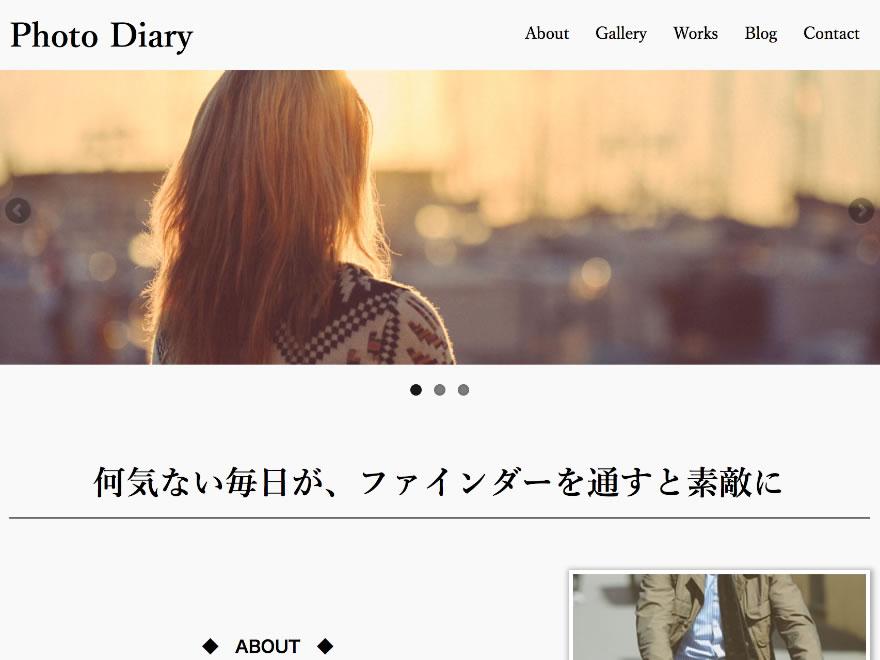 ギャラリー型ブログサイト