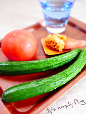 夏野菜の定番 トマト&きゅうり